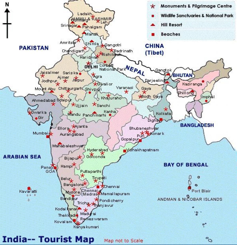 Karta Och Avstand.Avstand Karta Over Indien Avstand Karta Indien Sodra Asien Asien